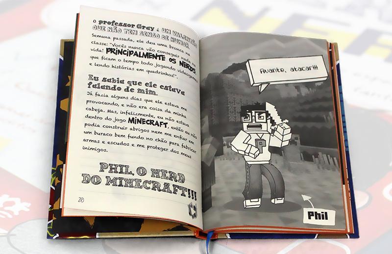 livro diario de um nerd